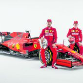 Sebastian Vettel fährt auf Lina ab