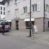 Raubüberfall auf Dornbirner Juwelier: Tatverdächtige nur wenig später gefasst. B1