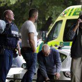 Schock und Trauer nach Terroranschlag auf Moscheen in Neuseeland. A2
