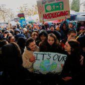 Starkes Zeichen gegen Klimawandel