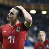 Bittere 2:4-Pleite von Österreich nach blamablem Auftritt im Spiel gegen Israel. C1