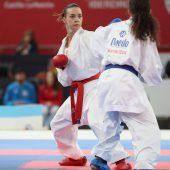 Bettina Plank erkämpft bei Karate-EM wie im Vorjahr Silber. C7