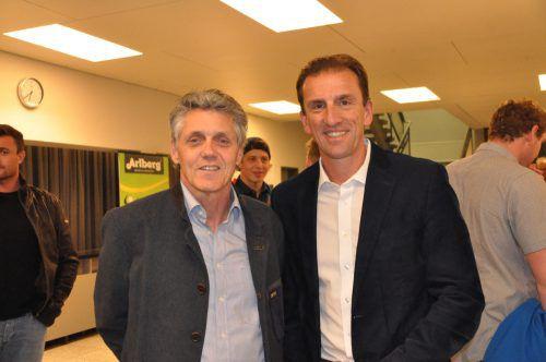 Franz Wilhelmer (l.) und ÖRV-Präsident Markus Prock.