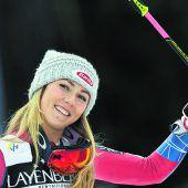 Mikaela Shiffrin ist zum dritten Mal Weltcupsiegerin