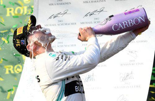 Für den Finnen Valtteri Bottas war es der vierte Grand-Prix-Sieg seiner Karriere, der erste seit Abu Dhabi im November 2017.GEPA