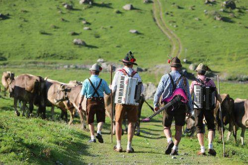 """Für die Dreharbeiten zum Musikvideo """"Voradlberg"""" waren die SöffaBuaba im Vorjahr im ganzen Land unterwegs. SöffaBuaba"""