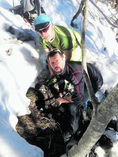 Gemeindemitarbeiter sowie der Skiverein konnten den Schaden beheben. Privat