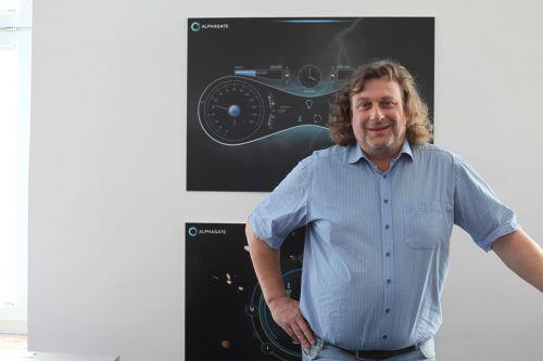 Geschäftsführer und Eigentümer Ulf Oberbichler. Alphagate