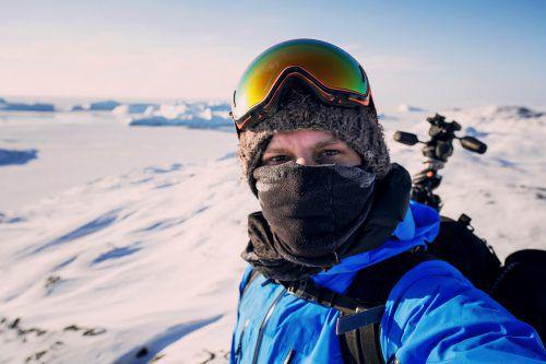Gmeiner reist für seine Foto-Dokumentationen in die Arktis.