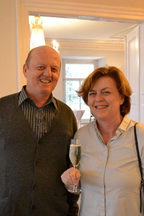 Günter und Renate Lenhart sind aus Feldkirch nach Thüringen gekommen.