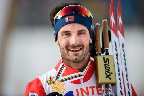 Hans Christer Holund bescherte über 50 km Norwegen das 13. Gold. Gepa