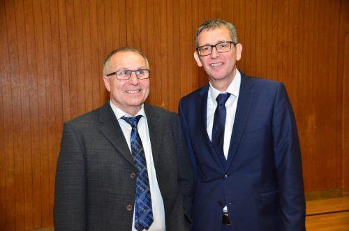 Hans-Peter Pfanner ist neuer Bürgermeister in Innerbraz.DOB