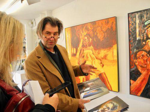 Harald Gfader ist als Künstler und in der Kunstvermittlung tätig. VN/CD