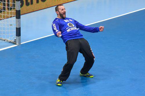 Golub Doknic steht seit zehn Saisonen im Tor des Alpla HC Hard. GEPA