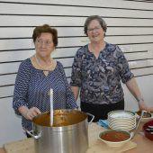 Eine kräftige Suppe für die Mission in Kamerun