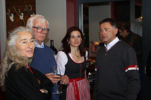 Heike Farmer und Franz-Josef Mathies waren mit dabei.
