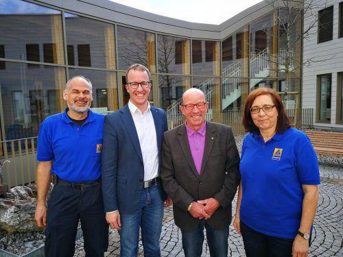 Herbert Knünz, Christian Gantner, Gottfried Schröckenfuchs und Angelika Spiegel.