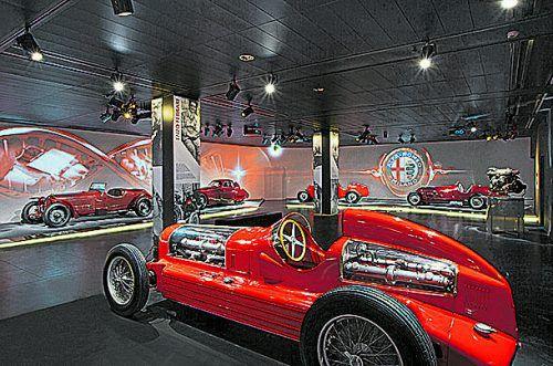 """Highlight der VN-Erlebnisreise am 8. März 2019 ist der Besuch im """"La Macchina del tempo – Museo Storico Alfa Romeo"""" in der Nähe von Mailand.Sebastiano Pellion di Persano;"""