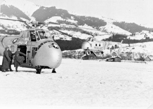 Hubschrauber starteten in Ludesch zum Rettungsseinsatz.