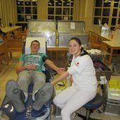 Blonser spendeten fleißig Blut