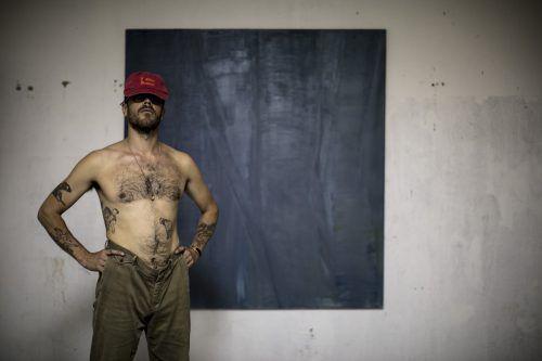 In der aktuellen Ausstellung von Linus Barta werden hauptsächlich neue Arbeiten (Öl auf Papier) gezeigt.Sofia Velasquez