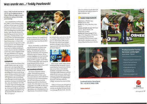 """In der Stadionzeitung """"Goal"""" war zuletzt Teddy Pawlowski ein großes Thema."""