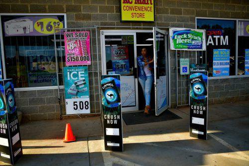 In diesem Geschäft in Simpsonville wurde der Lottoschein verkauft. Bis heute hat sich der Jackpot-Gewinner nicht gemeldet.Reuters