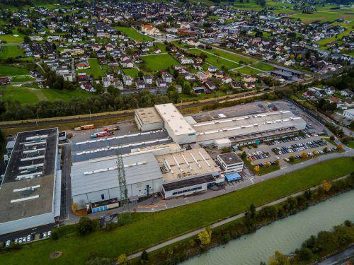 Das Werk der Hydro Extrusions in Nenzing. VN/Paulitsch