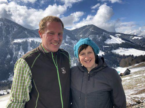 Jakob und Cornelia Mathis sind Bergbauern aus Überzeugung. VN/Schweigkofler