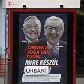 EU wehrt sich gegen Orban-Kampagne