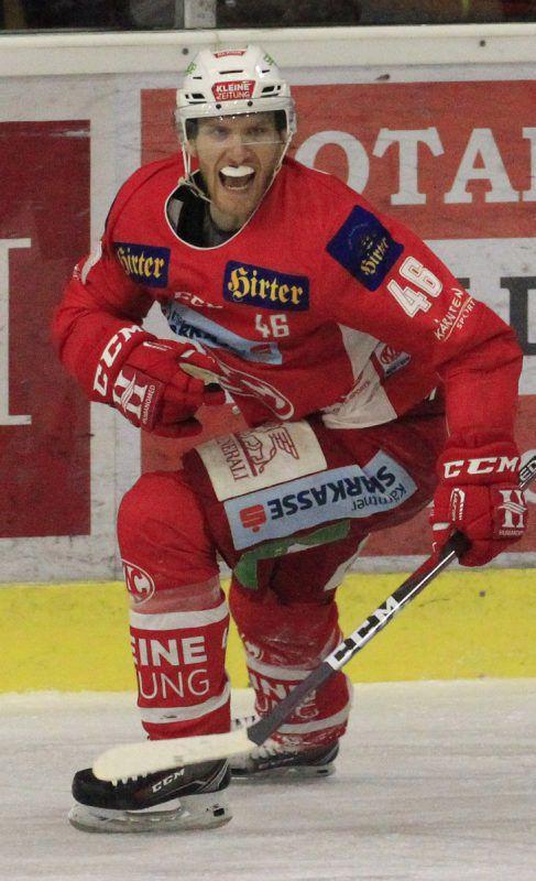 Johannes Bischofberger erzielte den Siegtreffer in Bozen.GEPA