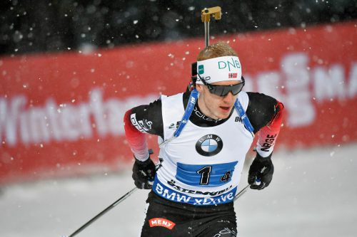 Johannes Bö ließ auch beim Heimrennen in Oslo der Konkurrenz keine Chance.Reuters