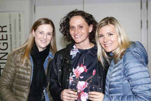 Kim Kathrein, Claudia Schuchter und Dominique Schutti.