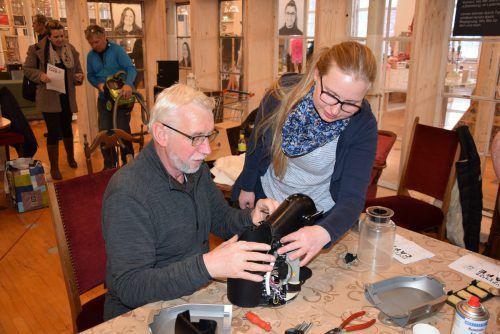 Knapp 80 erfolgreiche Reparaturen konnten im Repair Café Bludenz bereits durchgeführt werden. Stadt Bludenz