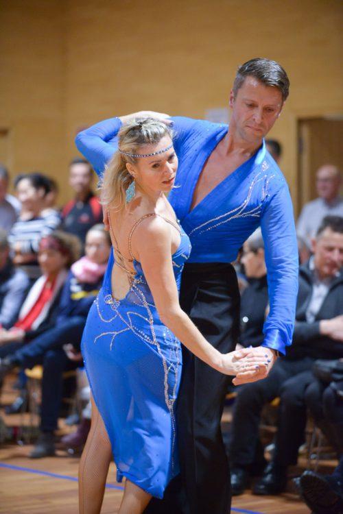 Lateinamerikanische Tänze begeistern am Samstag in Nüziders.Bludance