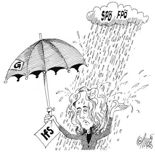 LR Katharina Wiesflecker im permanenten Dauerregen!
