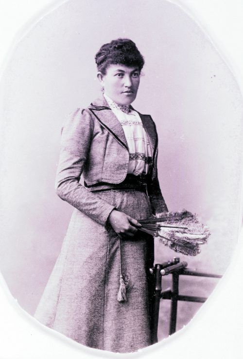 Marie Leibfried-Brüstle um 1895.
