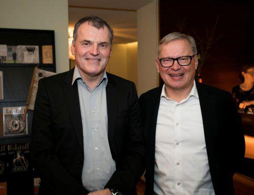 Matthias Praeg und Michael Hollersbacher.