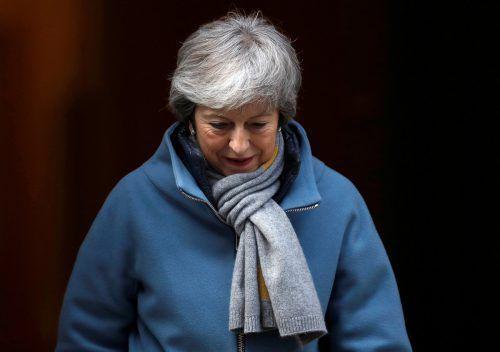 Mays Brexit-Deal erhielt erneut eine deutliche Absage. reuters