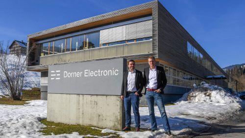 Bewusstes Entscheiden ist bei Dorner Electronic ein wichtiges Thema. Aktuell geht es darum, Produkte weiterzuentwickeln und die Internationalisierung auszubauen. VN/Lerch