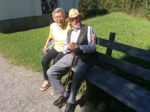 Michael Mitterrutzner und seine Ilse sind immer gut gelaunt.
