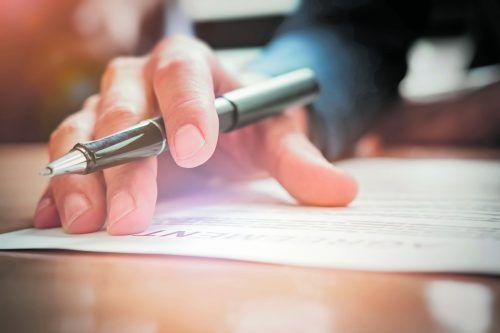Mietverträge sollten hieb- und stichfest erstellt werden.foto: Shutterstock