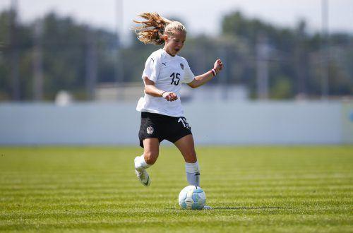 Mit dem österreichischen U-17-Team will sich Patricia Pfanner für die Endrunde in Bulgarien qualifizieren.gepa
