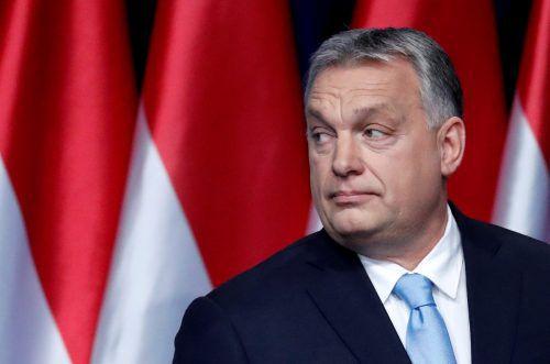 Mit der jüngsten Kampagne könnte Orban zu weit gegangen sein. Reuters