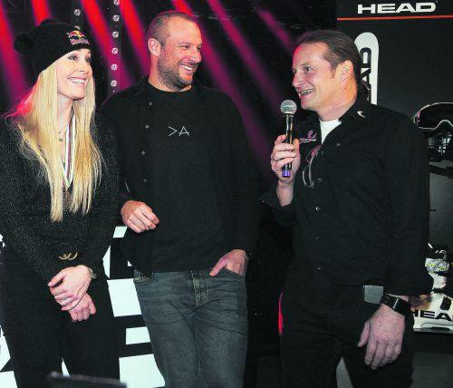 Mit Lindsey Vonn und Aksel Lund Svindal hat Head-Rennsportchef Rainer Salzgeber zwei Zugpferde verloren. gepa