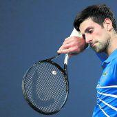 Djokovic verlor Rhythmus und das Spiel