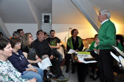 Musik und Geschichten von der Grünen Insel sollen bei der Sonntagsmatinée am 17. März ab 10 Uhr Lust machen auf die Begegnung mit Irland und seinen Menschen.