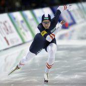 Europas schnellste Eisläuferin