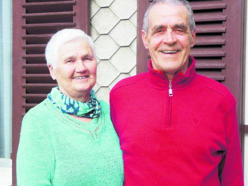 Noch viele glückliche Jahre wünschen sich Inge und Werner Herburger. K. Lässer