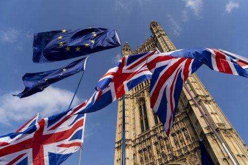 Erst in der vergangenen Woche haben die Parlamentarier Mays Abkommen zum dritten Mal abgelehnt. AFP
